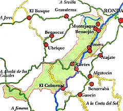 Routes through Andalusia  Route of the White Villages