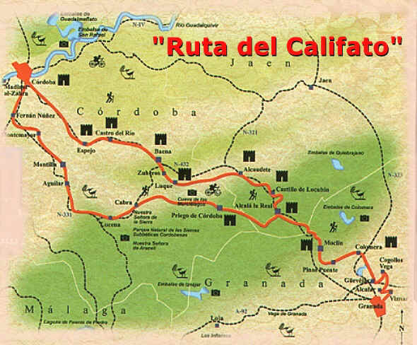 Routes through Andalusia Route of the Caliphate